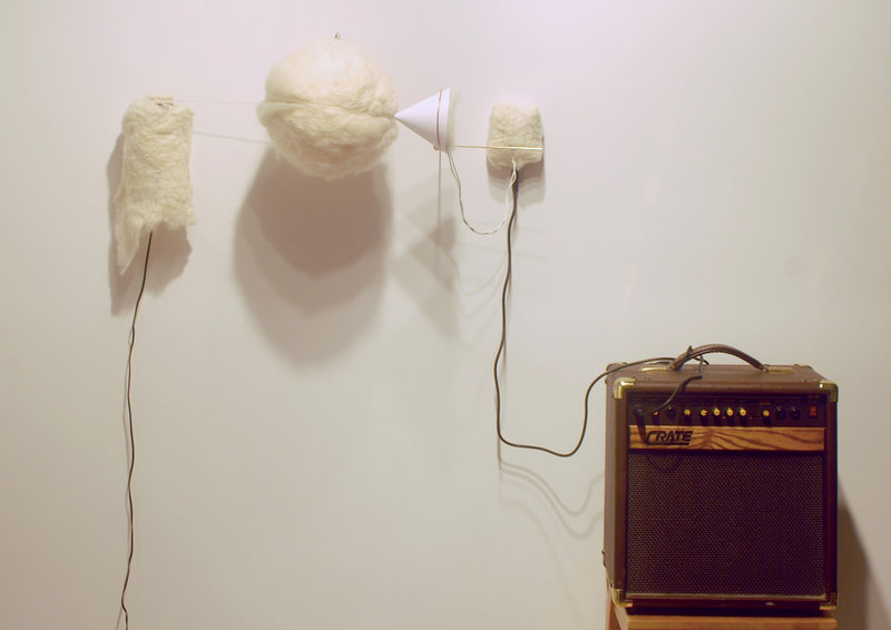 "Allen West's ""Sound of Felt"" allows viewers to hear what felt sounds like."