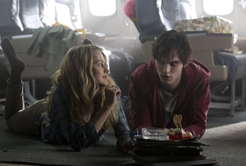 "Teresa Palmer, a live human, and Nicholas Hault, a dead one, build an unlikely relationship in ""Warm Bodies,"" a touching twist on star-crossed lovers."