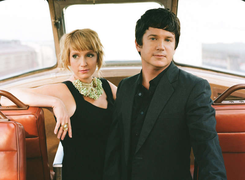 Leigh Nash and Matt Slocum of Sixpence None the Richer.