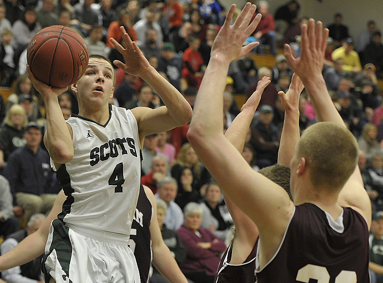 Doesn't matter that Dustin Cole of Bonny Eagle is just 5-foot-9. Doesn't matter at all. He finds a way to get open, whether for his own shot or finding a way to get the ball to open teammates.