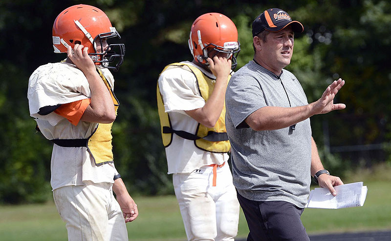 Scott Descoteaux had his dream job when he was named the Biddeford High football coach. But things aren't as they were 20 years ago, when the Tigers were annual contenders, and now a new coach will have to try and figure out the way to change things.