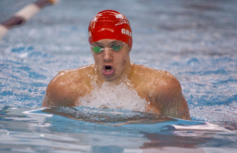 Jerry Gravel, a senior at Scarborough, won the 200-yard individual medley and was named outstanding performer.