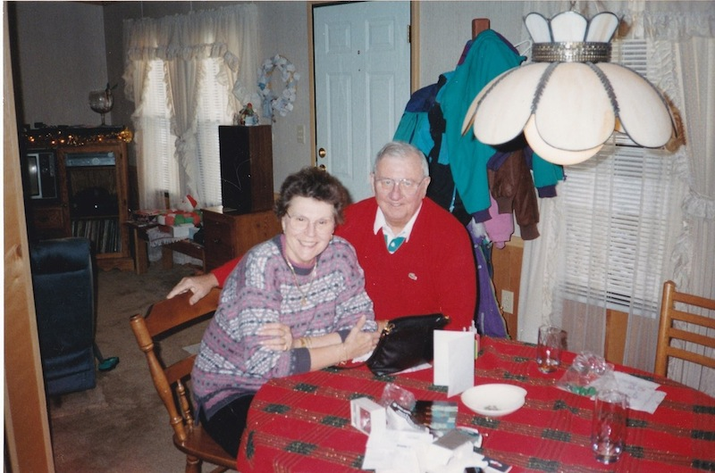 Daniel Lorello and his wife, Vivian, taken around Christmas in 1992.