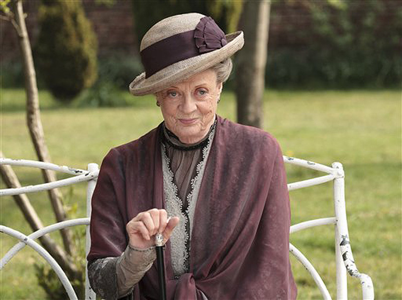 "Maggie Smith, who plays Dowager Countess Grantham, in ""Downton Abbey,"" can't be accused of being self-absorbed – she hasn't seen the show."