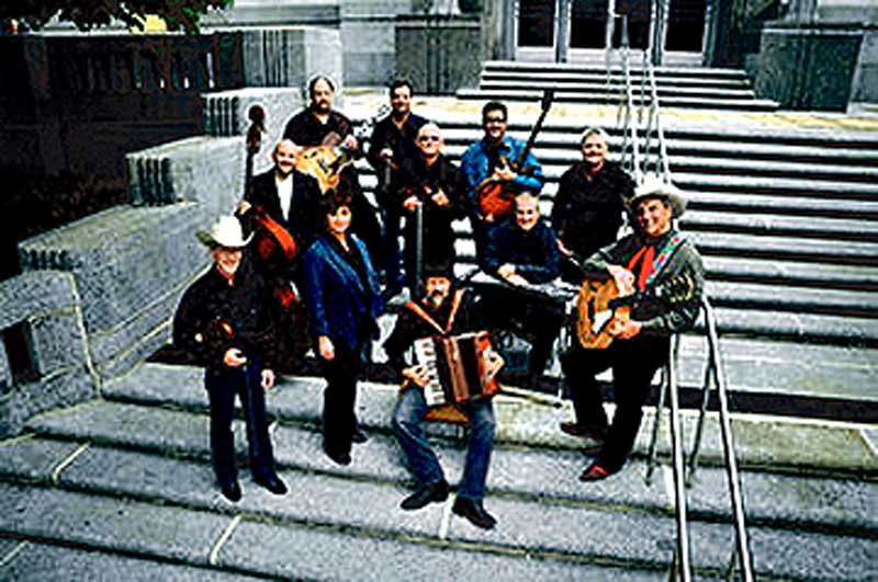 The Time Jumpers is a group mostly made up of Nashville session players.