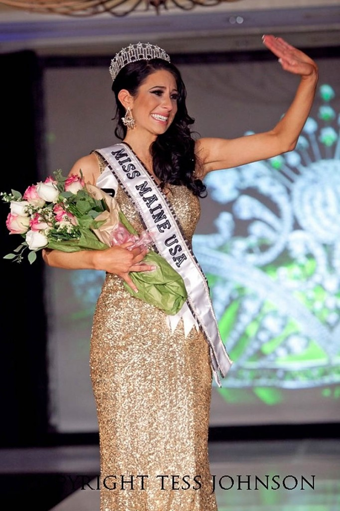 Ali Clair recently won the Miss Maine America title.