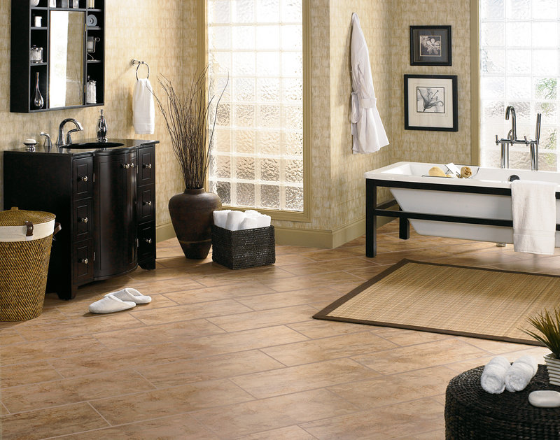 Mannington's Adura line brings the look of wood, tile or stone in a wide variety of shapes, sizes, textures and installation options.