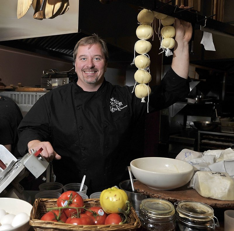 In this 2012 file photo, Harding Lee Smith. The prominent Portland chef was rescued during last weekend's blizzard after taking an icy plunge into Portland Harbor.