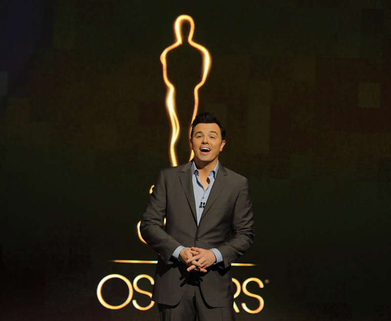Oscar host Seth MacFarlane presents nominations Wednesday for the 85th Academy Awards in Beverly Hills.