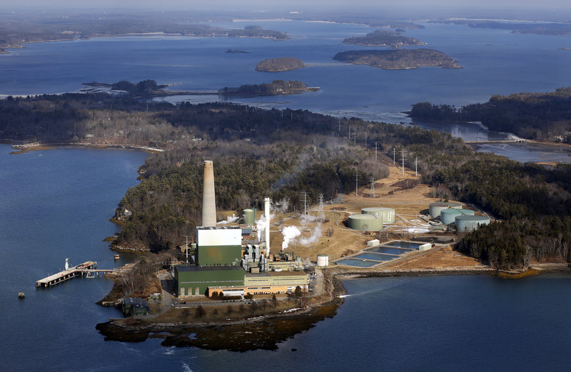 The Wyman Station power plant on Cousins Island in Yarmouth can pump out enough energy to power 893,000 homes.