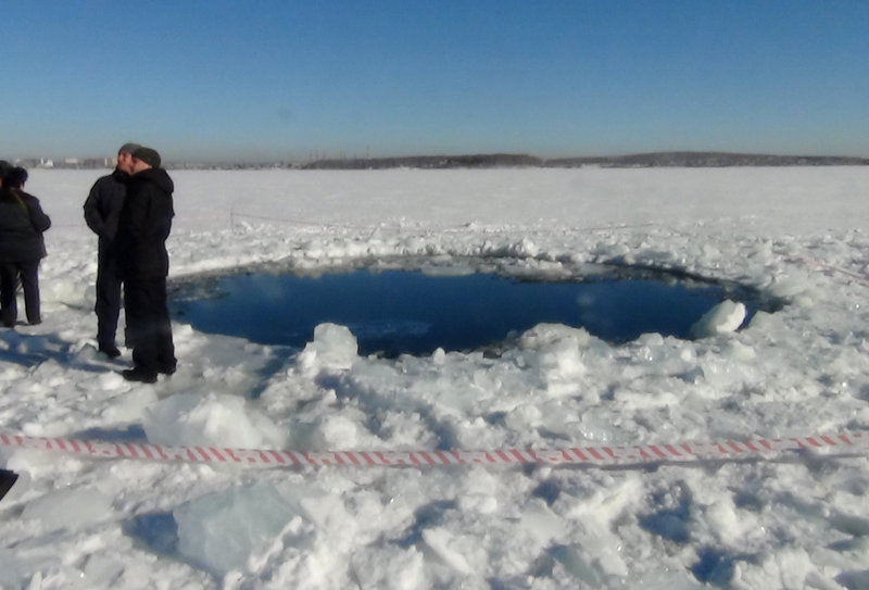 Divers so far have not found pieces of the meteorite in Chebarkul Lake, where debris smashed a 24-foot hole in the ice, but they plan to keep looking. Scientists plan to name the meteorite Chebarkul, after the lake.