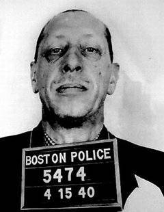 A photo of the look-alike criminal Igor Stravinsky that has helped perpetuate the myth of Stravinsky's purported arrest in 1944.