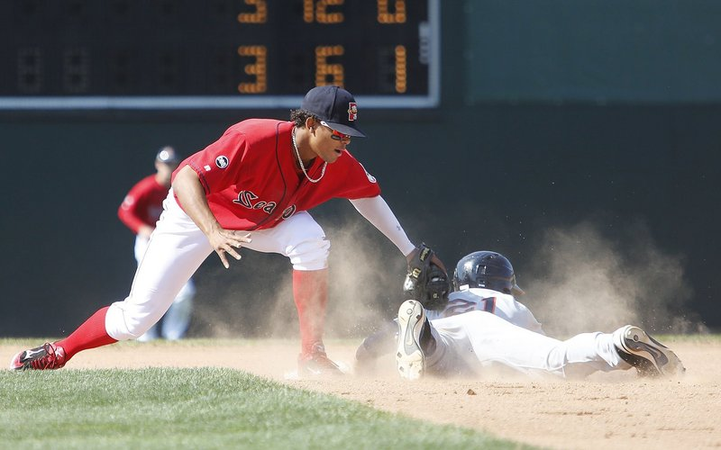 Xander Bogaerts already has shown at Hadlock Field that he's a fine shortstop, and with Will Middlebrooks at third base in Boston, there shouldn't be a rush for Bogaerts to switch.