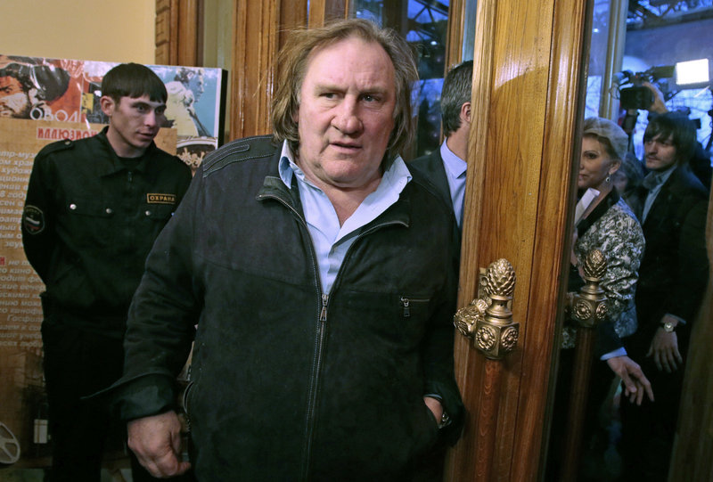 Actor Gerard Depardieu has been at the center of a heated debate over tax exiles as France's Socialist government proposes a hefty tax on the rich.