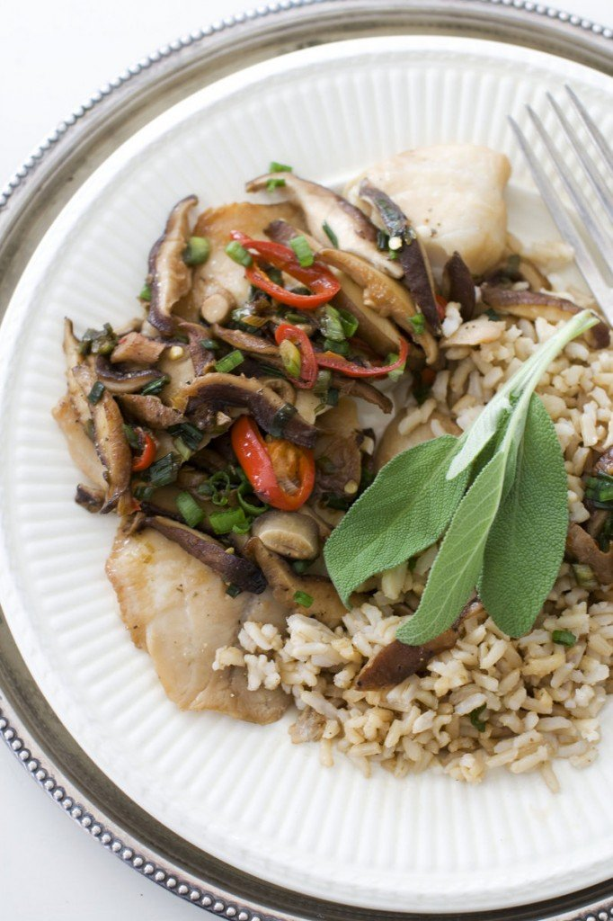 The recipe for Chinese-style steamed tilapia would work with any thin fillet, including char, catfish, trout or striped bass.