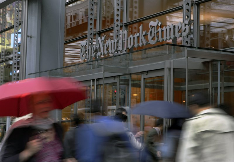 The New York Times Co. is among several newspaper companies supporting The Associated Press' lawsuit alleging that Meltwater makes unfair use of its news coverage.