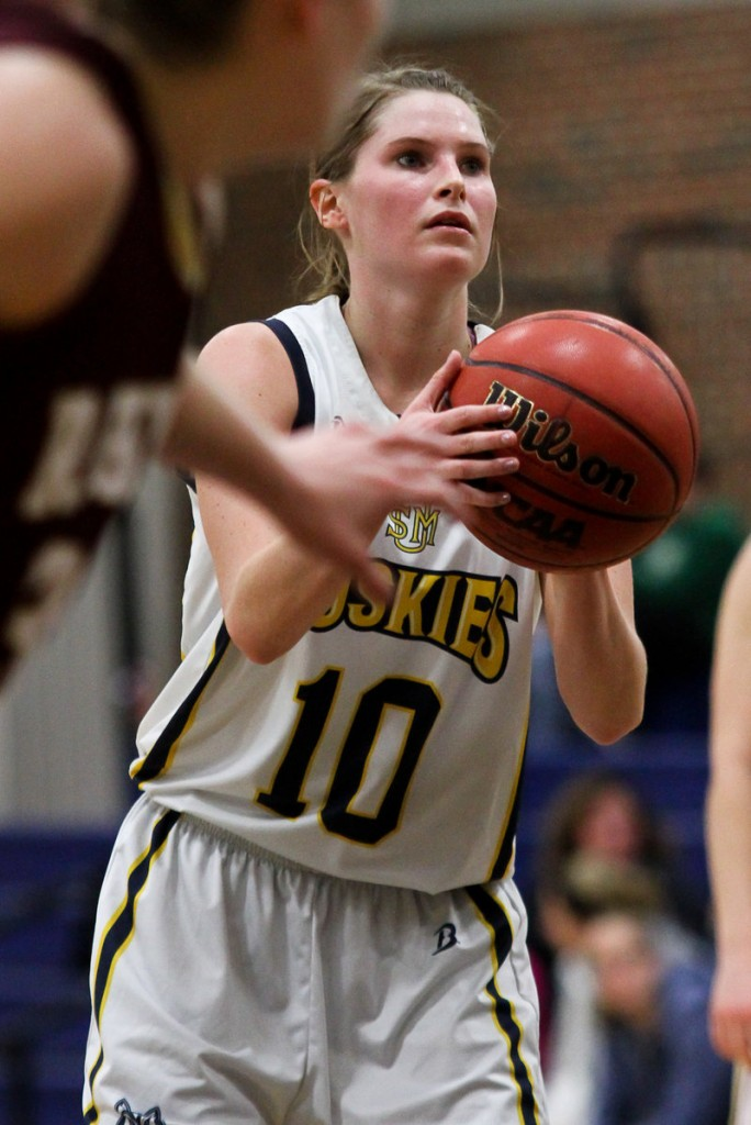 Nicole Garland, who played for Deering High, is now a fifth-year senior at USM. She's the captain of an eighth-ranked team that starts its NCAA tourney journey Friday.