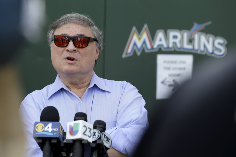 Jeffrey Loria got the public to pay for his stadium, and he's guaranteed millions through baseball's television package. So if he doesn't want to pay for quality ballplayers … well, so what?