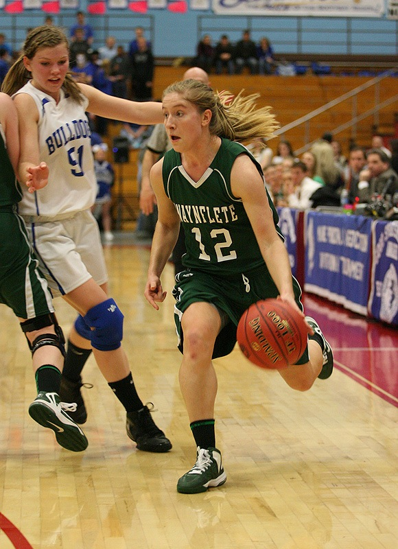 Martha Veroneau won the Western Class C top player/sportswoman award for the second straight year, leading Waynflete to the title.