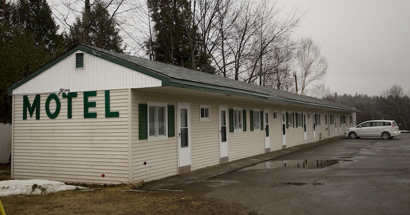 The Rivers Edge Motel in Medway, photographed Wednesday, March 13, 2013, is where Bruce Heal, also known as Bruce King, and Lynda Fogg, also known as Linda Gordon, spent time before a standoff and suicide on I-95 that's also linked to a homicide.