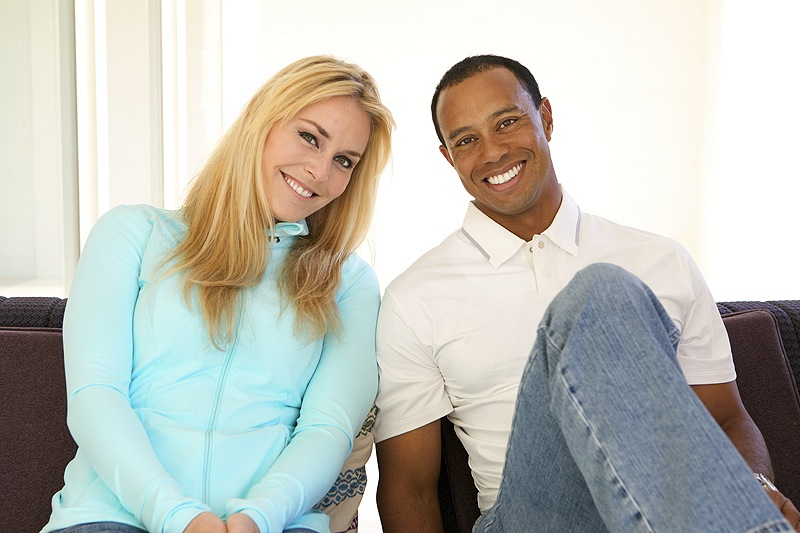 Skier Lindsey Vonn and golfer Tiger Woods pose for a portrait in this 2013 photo they provided. The two posted items on their Facebook pages this week to announce that they are dating.