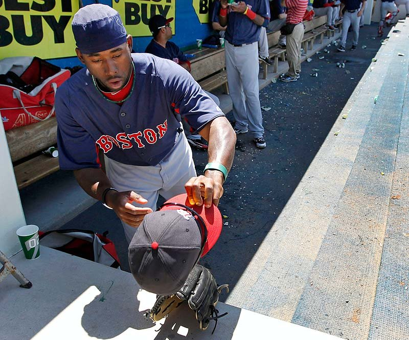 Boston Red Sox right fielder Jackie Bradley Jr.