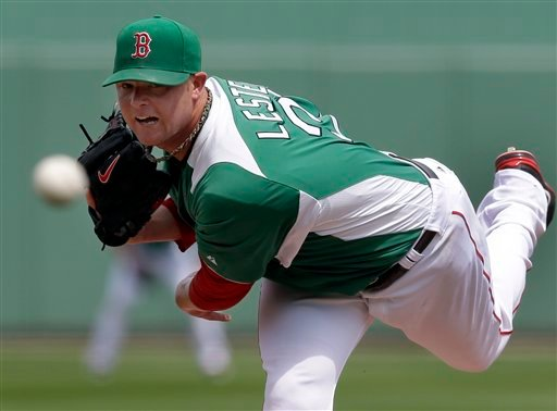 Red Sox starting pitcher Jon Lester pitched six perfect innings in an exhibition spring training game against the Tampa Bay Rays in Fort Myers, Fla., Sunday.