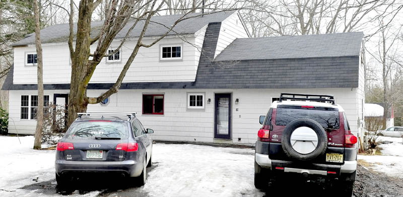 This home at 39 Washington Street in Waterville was the site of a party on Saturday, where police summonsed 90 people for underage drinking.