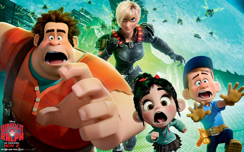 """John C. Reilly voices the title character in """"Wreck-It Ralph."""""""