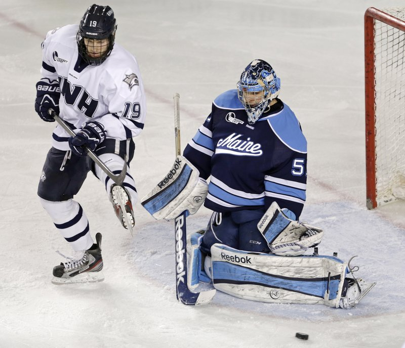 "Martin Ouellette, who started 28 of 36 games in goal for UMaine, recognized the Black Bears were a good team early in the season despite their struggles. ""I just knew we had the potential to do something this year,"" he said."
