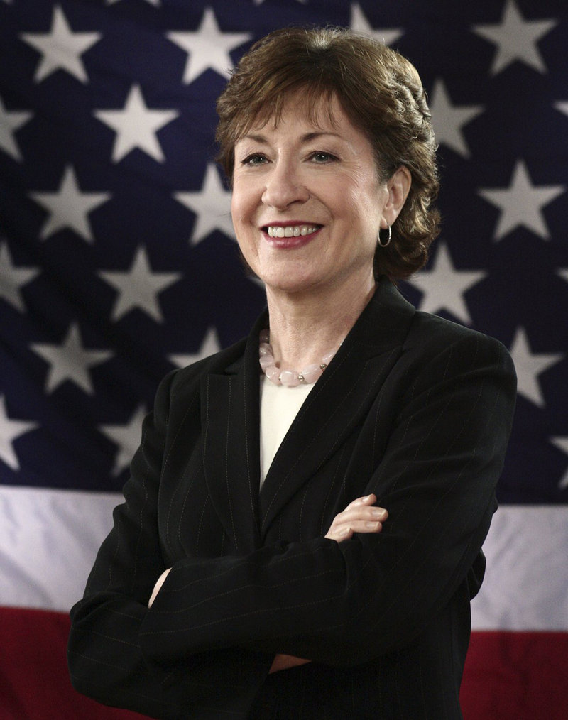 "Sen. Susan Collins' decision to refrain from urging the Supreme Court to overturn the Defense of Marriage Act ""shows a lack of political courage,"" a reader says."