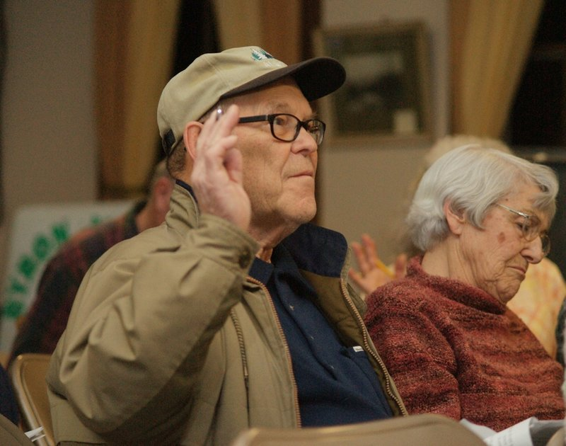 Byron residents voted unanimously Monday night to reject a proposal that would have required every household in town to have firearms and ammunition. Kenneth Waugh, 80, was one of those voters.