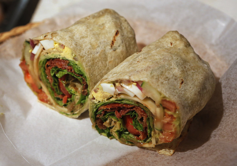 The Cobb Wrap at Clayton's