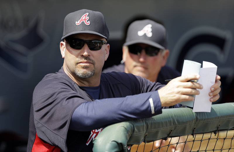 "Fredi Gonzalez, who managed the Sea Dogs in 1997, was ""the perfect guy at the right time"" to manage the Braves, according to Atlanta GM Frank Wren."