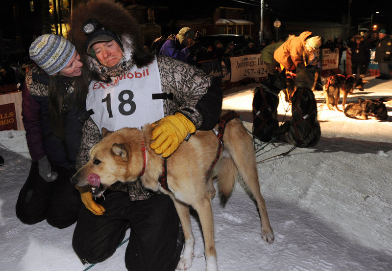 Jeff King might have been Mitch Seavey's inspiration, as he was 50 when he and his team won their fourth Iditarod in 2006. Until Seavey, King had been the oldest winner.