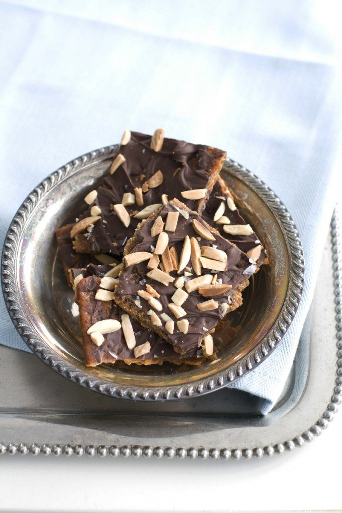 Matzo toffee bar crunch