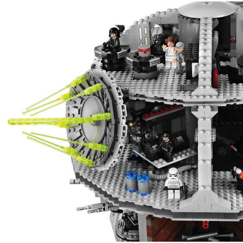 Star Wars Lego toys like this Death Star are highly collectible.