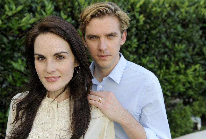 "The relationship between Michelle Dockery's Lady Mary and Dan Stevens' Matthew Crawley was a central storyline on ""Downton Abbey."" He left after season 3."