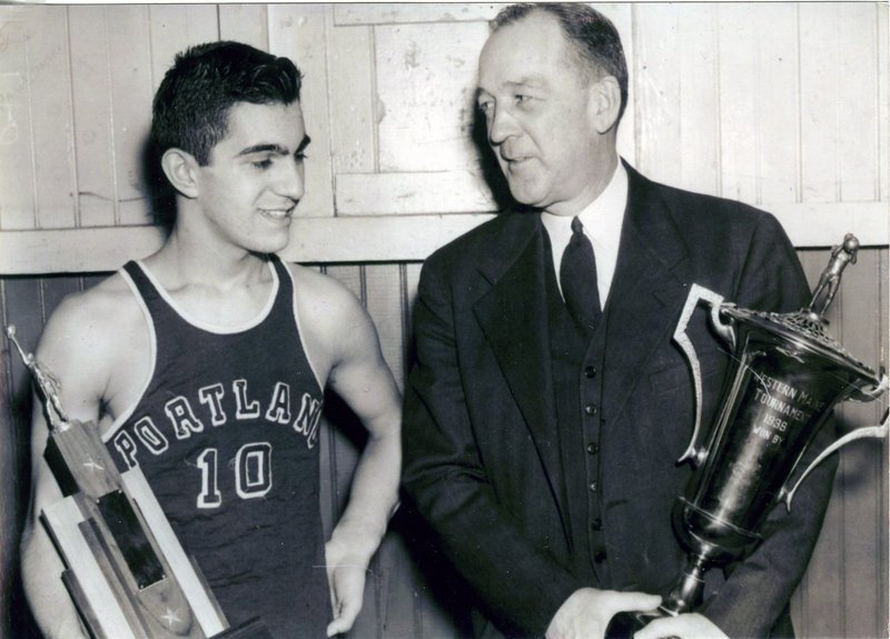 Andy Lano was a Portland High basketball captain and, in 1943, played as a freshman on a state title team coached by the legendary Jimmy Fitzpatrick.