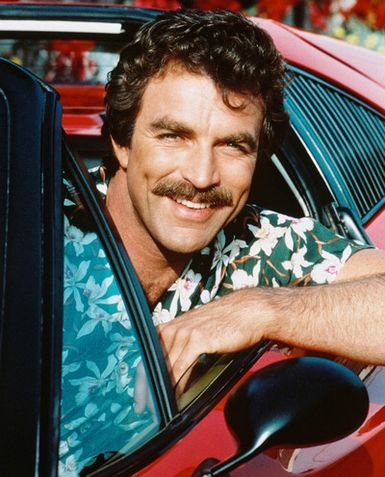 "Tom Selleck in ""Magnum, P.I."""
