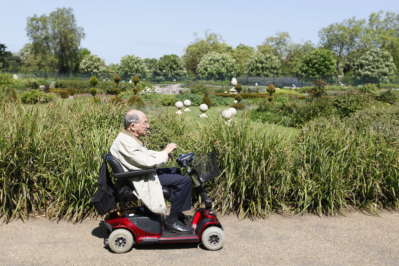 Doctors say some seniors need motorized scooters, but people who use them unnecessarily can become physically inactive, potentially exacerbating obesity and other disorders.