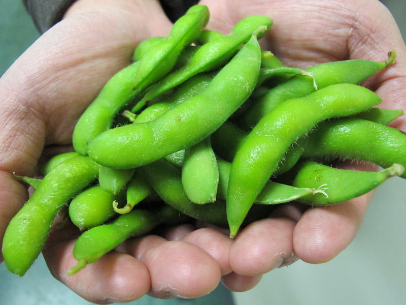 Edamame, often used in Asian cuisine, is being grown by U.S. farmers who see a market for the whole soybeans among Americans interested in protein alternatives to meat.