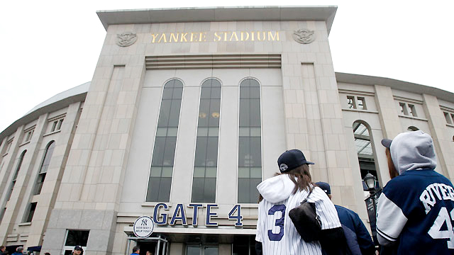 The Yankees will host the Red Sox on Opening Day at Yankee Stadium on April 1.
