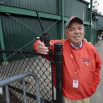 Shawn Patrick Ouellette/Staff Photographer: Dave McHugh, working the players lot before a Sea Dogs game Sunday, April 7, 2013.