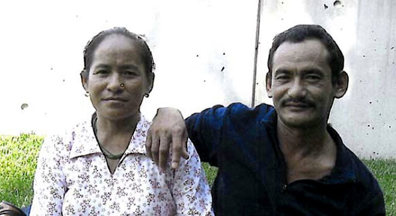 Karnamaya Mongar is shown with her husband, whose first name was not given. Mongar, 41, died after seeking an abortion and is the subject of one murder count in the ongoing Philadelphia trial of Dr. Kermit Gosnell.