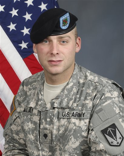 Spc. William Colton Millay is shown in an undated photo released by U.S. Army Alaska.