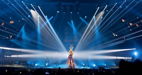 Carrie Underwood brings her Blown Away Tour to a packed Cumberland County Civic Center in Portland Tuesday night.
