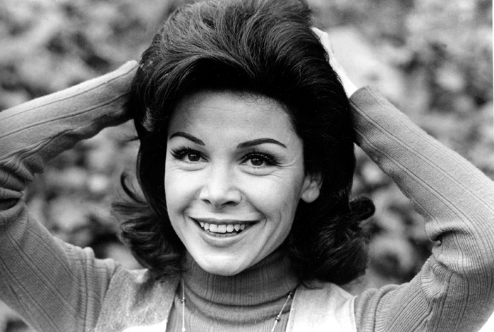 A 1978 photo of Annette Funicello at her home in Encino, Calif. Funicello was discovered at age 12 to become the 24th and last Mousketeer chosen for the 1950s televison show