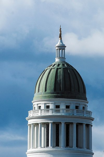 The copper on the State House dome in Augusta will be replaced.