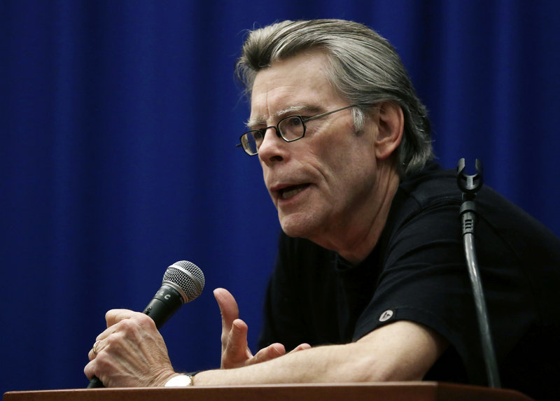 (FILE) Maine author Stephen King